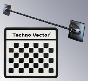 Референсные мишени Техно Вектор 6 устанавливаются перед рабочим местом